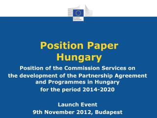 Position Paper Hungary