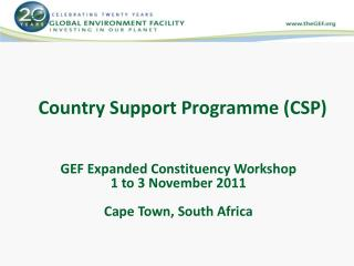 Country Support  Programme  (CSP)