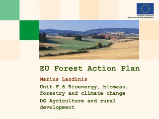 EU Forest Action Plan