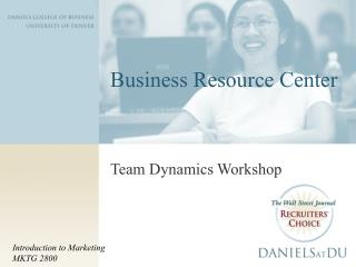 Business Resource Center