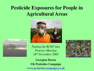 Pesticide Exposures for People in Agricultural Areas