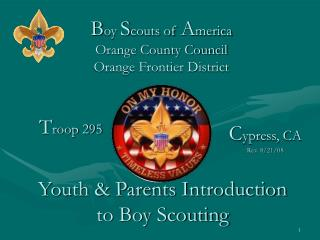 Boy Scouts of America Orange County Council Orange Frontier District