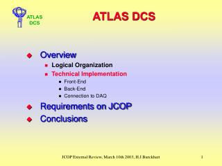 ATLAS DCS
