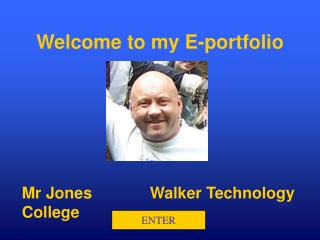 Welcome to my E-portfolio