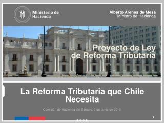 La Reforma Tributaria que Chile  N ecesita