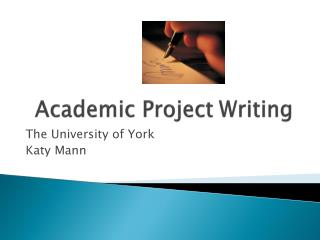 Academic Project Writing