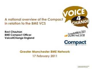 Greater Manchester BME Network 17 February 2011