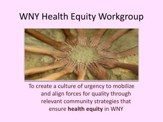 WNY Health Equity Workgroup