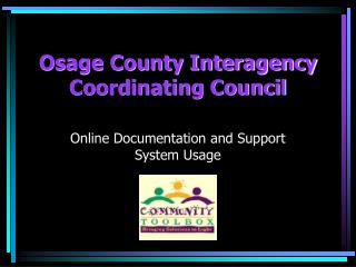 Osage County Interagency Coordinating Council