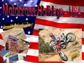 Motocross Holidays - USA