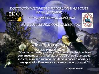 --Stephen Grellet