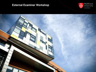 External Examiner Workshop