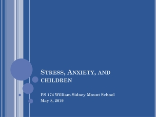 Helping Adolescents Handle Stress and Conflict