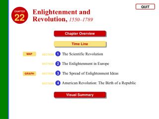 Enlightenment and  Revolution ,  1550–1789
