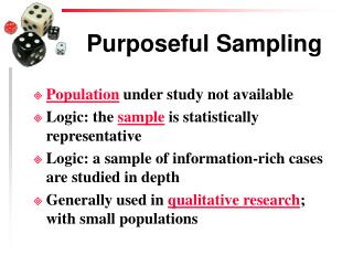 Purposeful Sampling