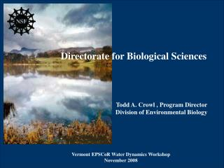 Directorate for Biological Sciences