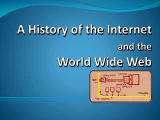 A  History  of the Internet  and the 		World  Wide Web