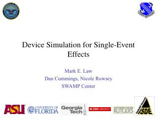 Device Simulation for Single-Event Effects