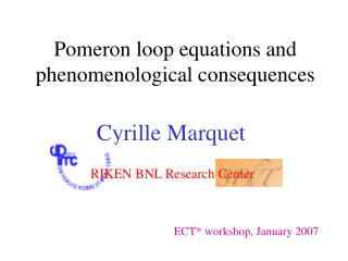 Pomeron loop equations and phenomenological consequences