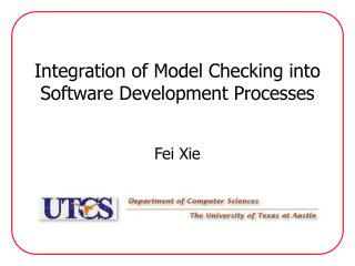 Integration of Model Checking into Software Development Processes