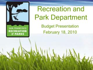 Recreation and Park Department