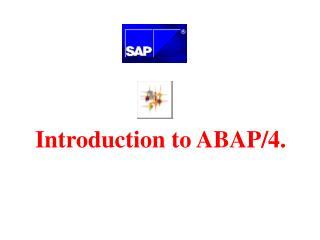 Introduction to ABAP/4.