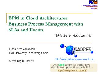 BPM in Cloud Architectures: Business Process Management with SLAs and Events