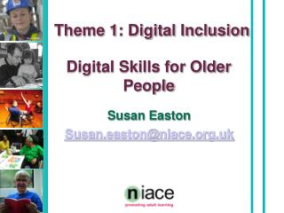 Digital Skills for Older People