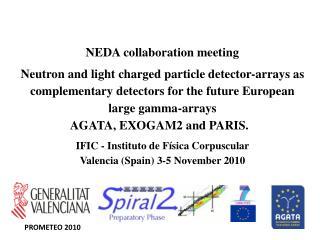 NEDA collaboration meeting