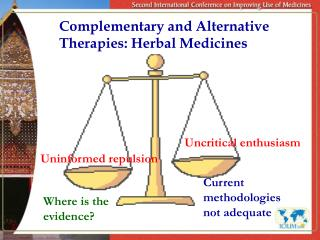 Complementary and Alternative Therapies: Herbal Medicines
