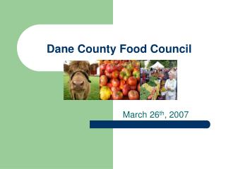 Dane County Food Council