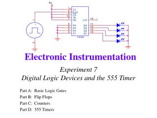 Experiment 7 Digital Logic Devices and the 555 Timer
