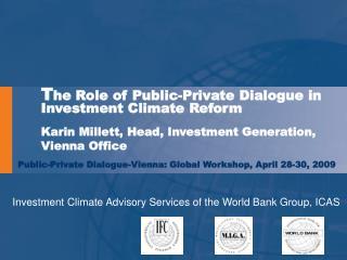 Public-Private Dialogue-Vienna: Global Workshop, April 28-30, 2009