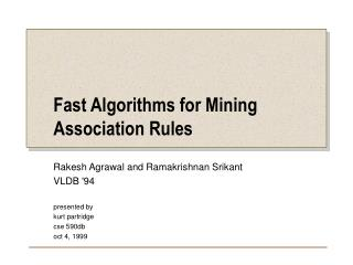 Fast Algorithms for Mining Association Rules
