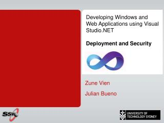 Developing Windows and Web Applications using Visual Studio.NET Deployment and Security