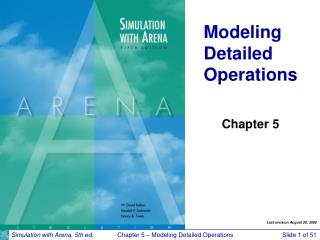 Modeling Detailed Operations