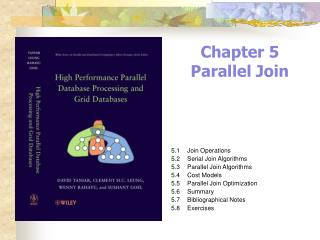 Chapter 5 Parallel Join