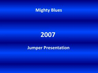 Mighty Blues