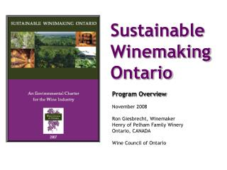 Sustainable Winemaking Ontario