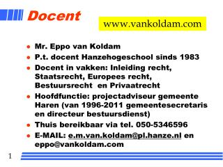 Docent