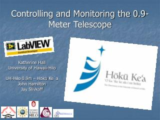 Controlling and Monitoring the 0.9-Meter Telescope