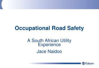 Occupational Road Safety