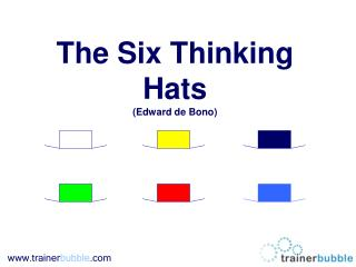 The Six Thinking Hats (Edward de Bono)