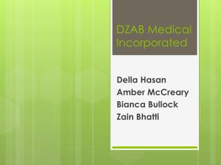 DZAB Medical Incorporated