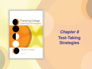 Chapter 8  Test-Taking Strategies