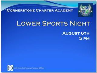 Lower Sports Night