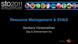 Resource Management & EH&S