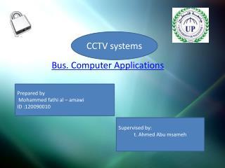 Bus. Computer Applications