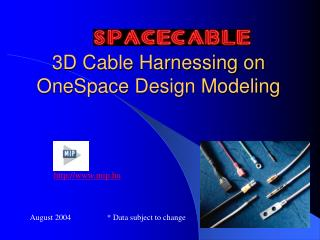 3D Cable Harnessing on OneSpace Design Modeling