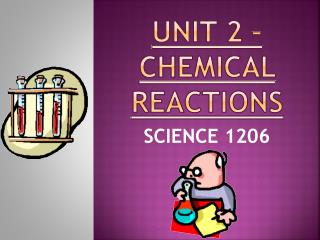 UNIT 2 – CHEMICAL REACTIONS